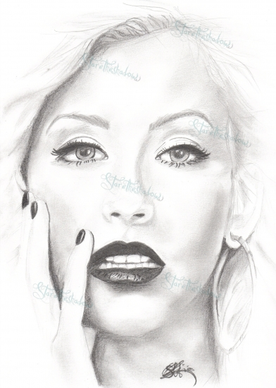 Christina Aguilera by staretheshadow